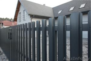 Забор (профнастил). Штакетник металлический. Ворота. - Изображение #1, Объявление #1377407