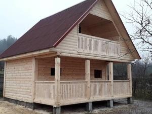 Сруб Дом/Бани из бруса 6х6 установка Могилев и район - Изображение #4, Объявление #1631699