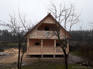 Сруб Дом/Бани из бруса 6х6 установка Могилев и район - Изображение #5, Объявление #1631699