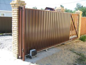 Ворота распашные. Калитки. Забор из профлиста. - Изображение #1, Объявление #1362435