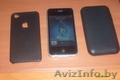 apple iphone 4 флешка 4GB универсальное зарядное  2 чехла