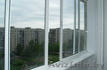 Балконные рамы из ПВХ и алюминиевого профиля.