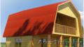 Дома/Бани сруб Днепр 6 × 6 из бруса с установкой .
